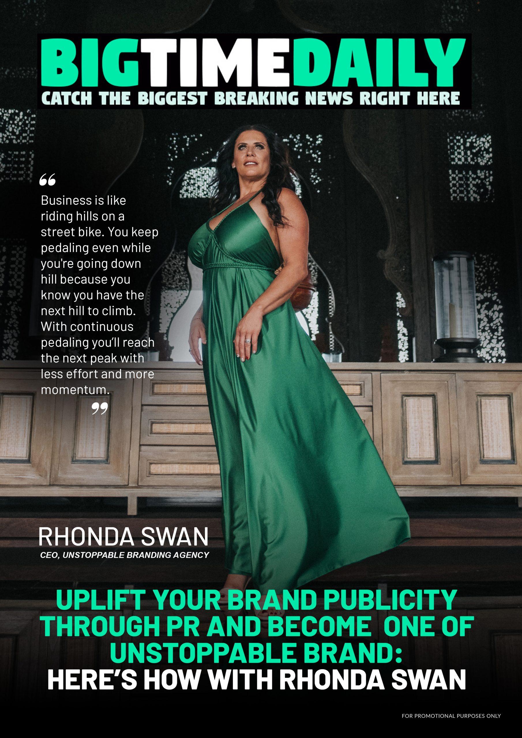 Rhonda Swan (BigTimeDaily Cover)