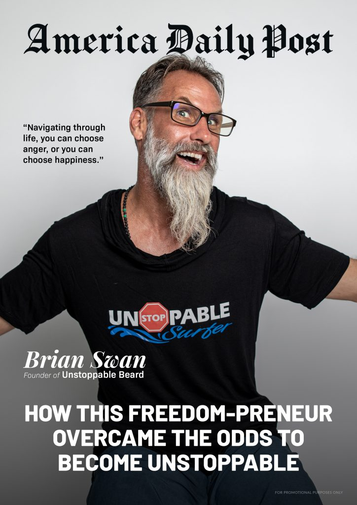 Brian Swan American Daily Post Cover