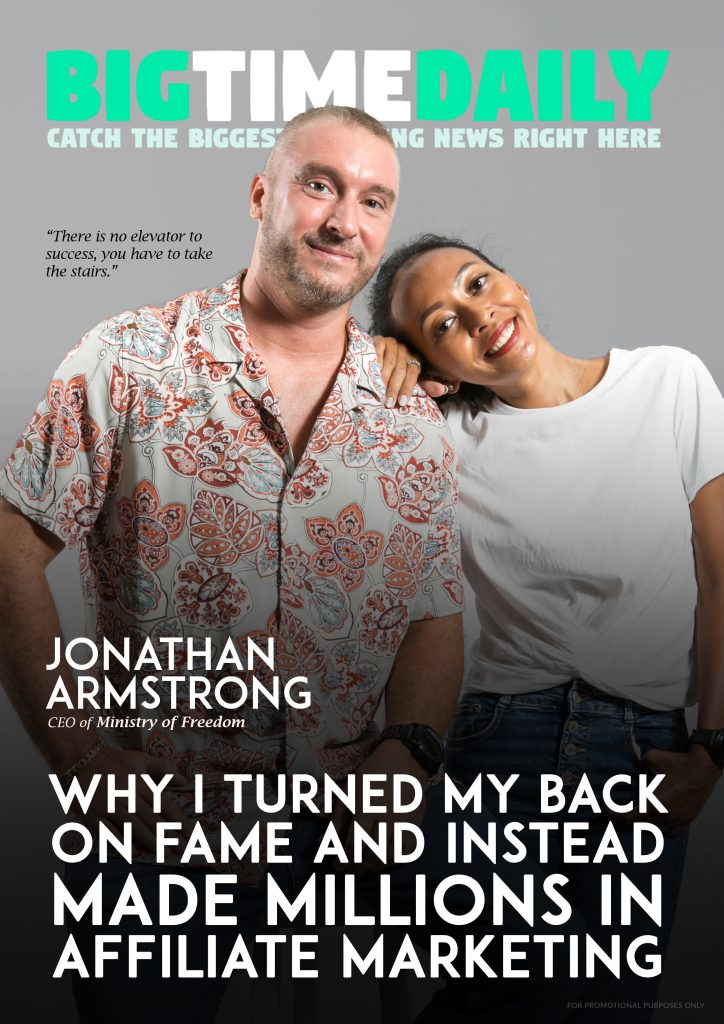 Jonathan Armstrong Bigtime Daily Cover